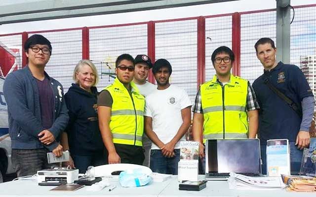KOM CPC Volunteers At A Science World Event With VPD